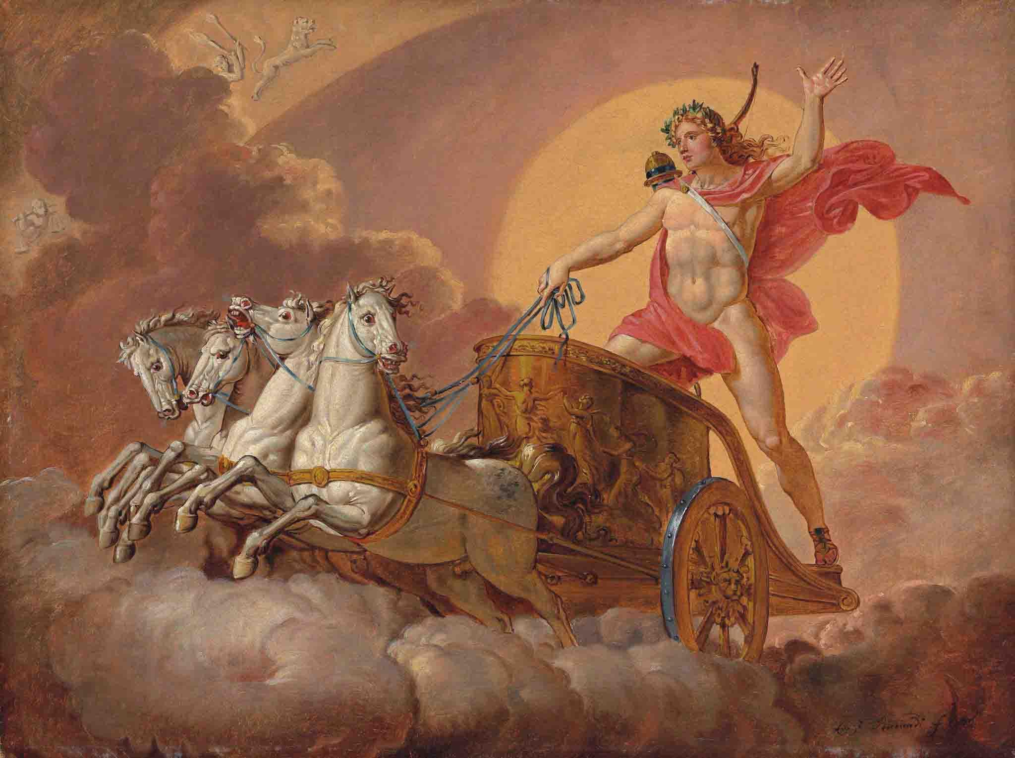 Гелиос бог Солнца